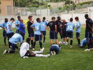 Intervallo torneo di Barcellona - Giovani le Rimini