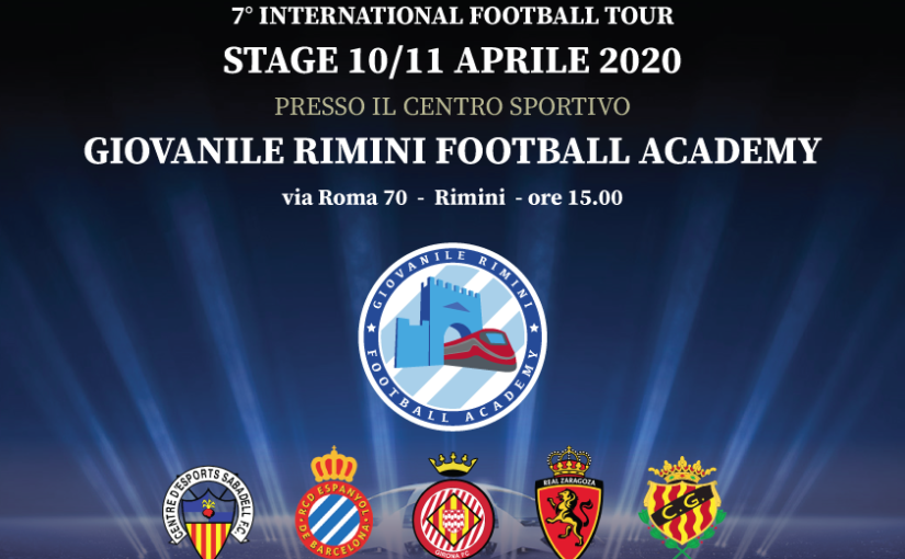 7° International Football tour – STAGE 10/11 Aprile 2020
