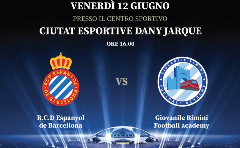 7° International Football tour - R.C.D. Espanyol de Barcellona vs Giovanile Rimini Football Academy